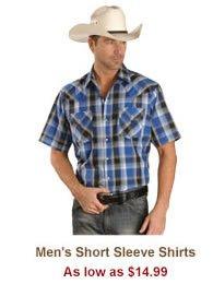 Shop Mens Short Sleeve Shirts