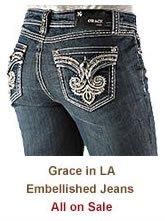 Shop Womens Grace in LA Jeans on Sale