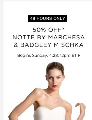 Notte By Marchesa & More