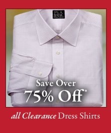 All Clearance Dress Shirts - Save Over 75% Off*