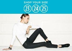Denim: Size 23, 24, 25