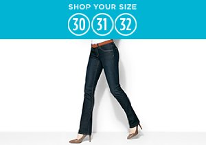 Denim: Size 30, 31, 32