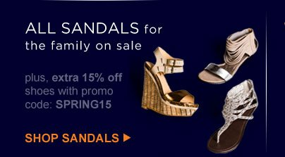 ALL SANDALS for the family on sale | SHOP SANDALS