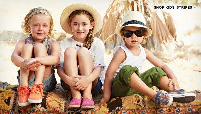 Shop kids' stripes >