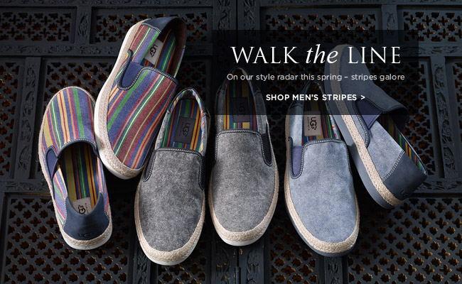 Walk the line - On our style radar this spring – stripes galore - Shop men's stripes >