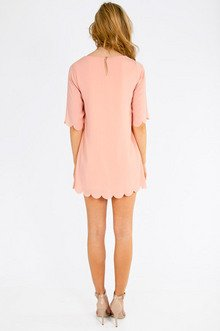 Ever So Scalloply Dress $39