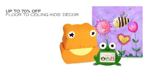 UP TO 70% OFF: FLOOR TO CEILING KIDS' DÉCOR, Event Ends May 1, 9:00 AM PT >