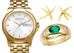 Luxury Watches & Jewelry by Hamilton, Tiffany & Co., Bvlgari & More