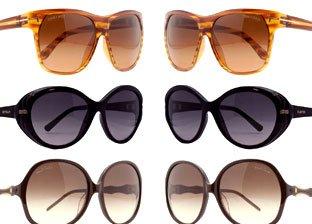 Tom Ford, Valentino, Roberto Cavalli Sunglasses
