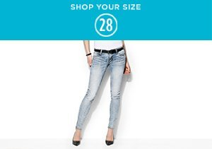 Denim: Size 28