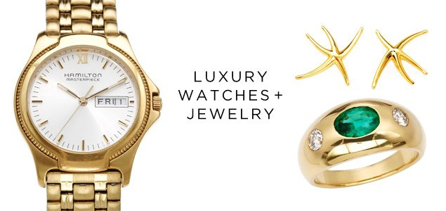 Luxury Watches & Jewelry By Hamilton, Tiffany & Co., Bvlgari And More