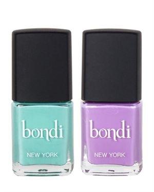Bondi New York 2 Piece Nail Polish Set Made In USA