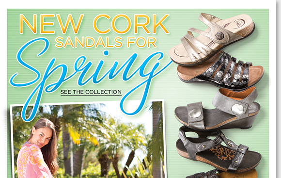 Stylish, comfortable, and naturally shock-absorbing, slip into the new spring sandal arrivals from Dansko, ABEO B.I.O.system, Naot, Aetrex, Taos, and more of your favorite comfort brands. From stylish slides to wedges, shop now to find the best selection online and in-stores at The Walking Company.