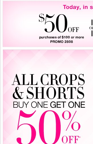 Everything spring on sale + Extra day to save $50!