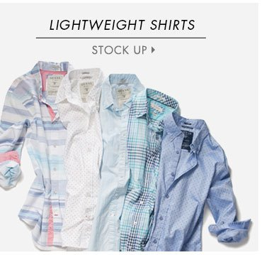 Lightweight shirts