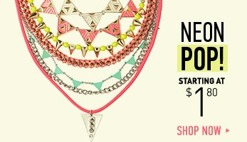 Neon Pop Accessories - Shop Now