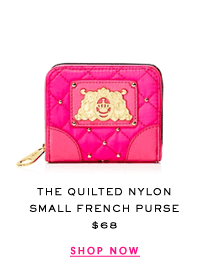 The Quilted Nylon Small French Purse at $68. Shop Now.