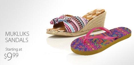 Mukluks Sandals