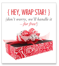 Hey Wrap Star! Don't worry, we'll handle it - for free!