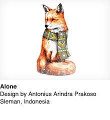 Alone - Design by Antonius Arindra Prakoso / Sleman, Indonesia