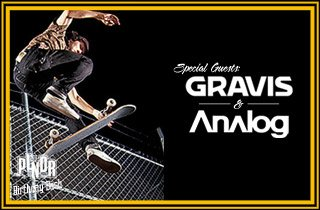 Special Guest: Gravis & Analog