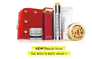 NEW! Beauty Icons Set, $250 (a $320 value).