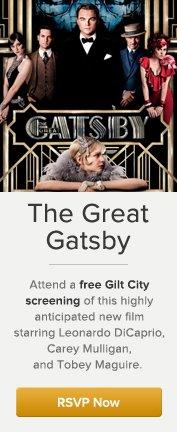 Gatsby Screening