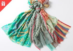 Wrap it Up: Scarves for Mother's Day