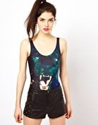 Bambam Bodysuit In Panther Print