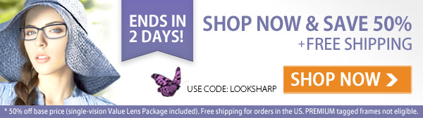 Only 2 Days Left! Take 50% Off + FREE Shipping