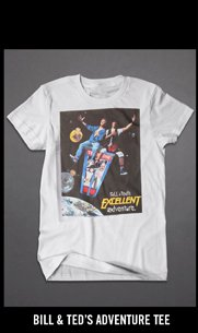 BILL & TED'S ADVENTURE TEE