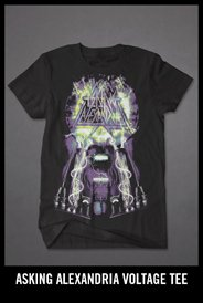 ASKING ALEXANDRIA VOLTAGE TEE