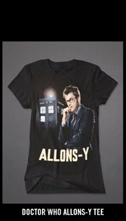 DOCTOR WHO ALLONS-Y TEE
