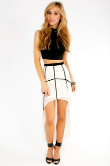 Spiderwebs Skirt $30