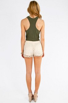 In First Lace Shorts $32