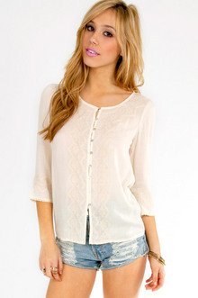 Shai Embroidered Top $30