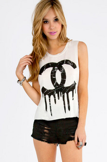 Dripping Paint CC Tank Top $23