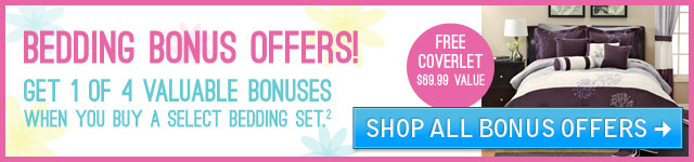 Bedding Bonus Offer