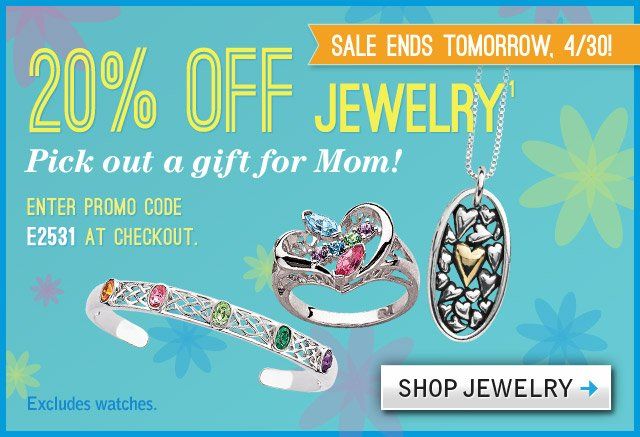 20% OFF ALL Jewelry