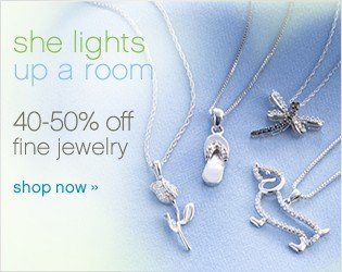 40-50% off fine jewelry. Shop now.