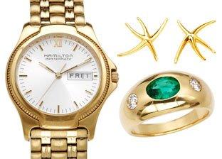 Luxury Watches & Jewelry by Hamilton, Tiffany & Co., Bvlgari & More