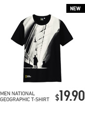 MEN NATIONAL GEORGRAPHIC T-SHIRT