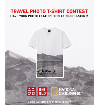 TRAVEL PHOTO T-SHIRT CONTEST