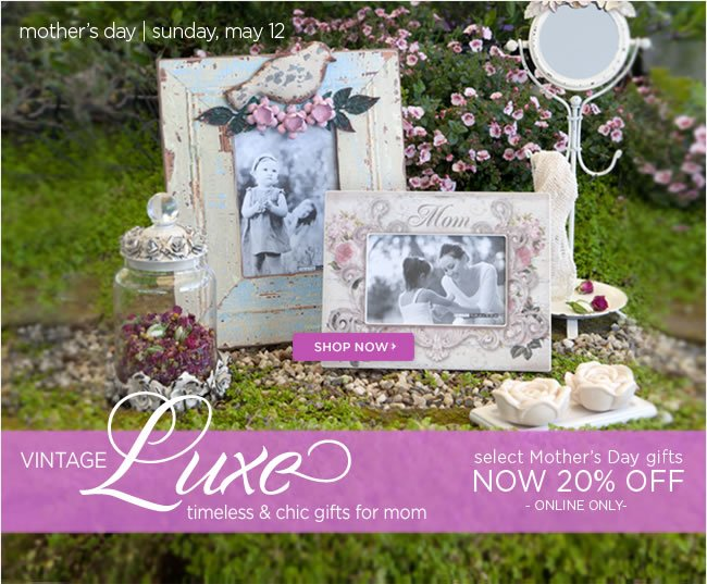 Save 20% off select Mother's Day gifts, bags & wrap  Online Only   Shop online at www.papyrusonline.com