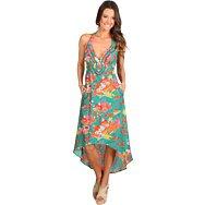 Nanette Lepore Kimono Floral Maxi Dress