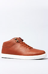 The Miner Sneaker in Brown Leather