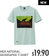 MEN NATIONAL GEORGRAPHIC T-SHIRT