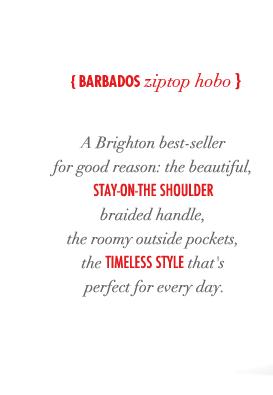 Barbados ziptop hobo
