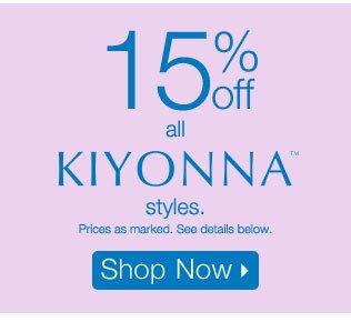 15% off all Kiyonna styles