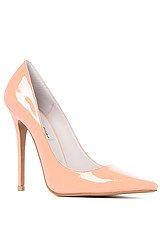 The Darling Shoe in Peach Patent